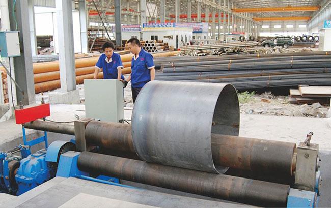 北京大型折弯卷圆